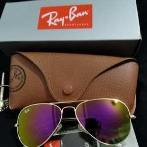 NEW RayBan Aviator Oversized Authentic RB3026 62MM